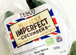 Tesco cucumbers
